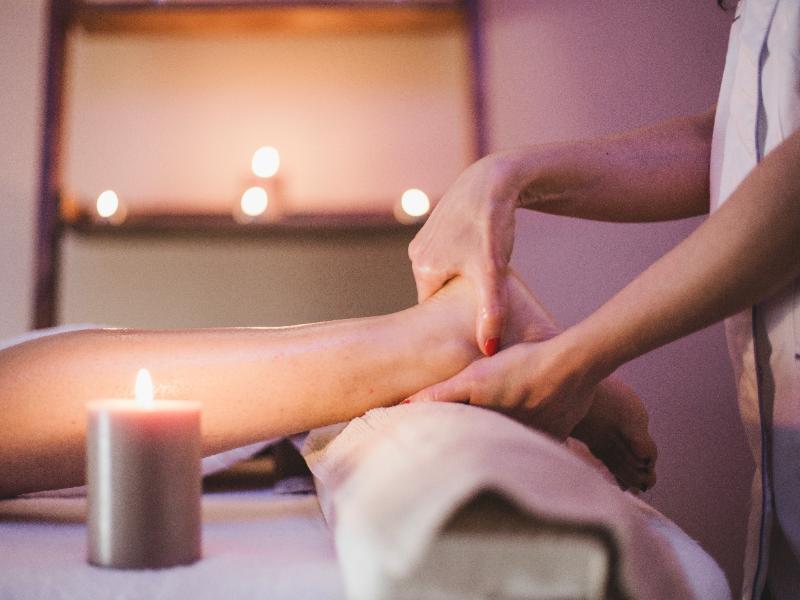 Voetzorgen Voet massage