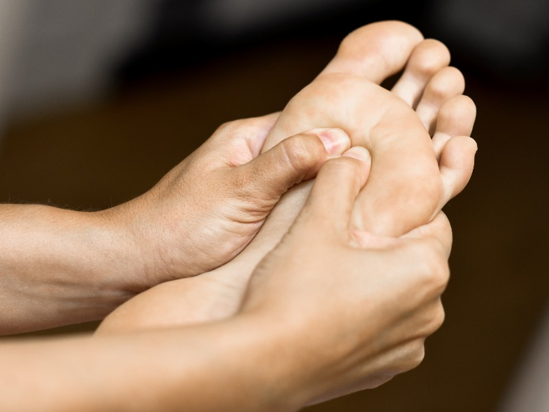 Voetzorgen Voetreflexmassage